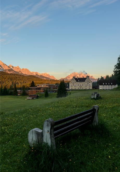 Das Kranzbach in Krün
