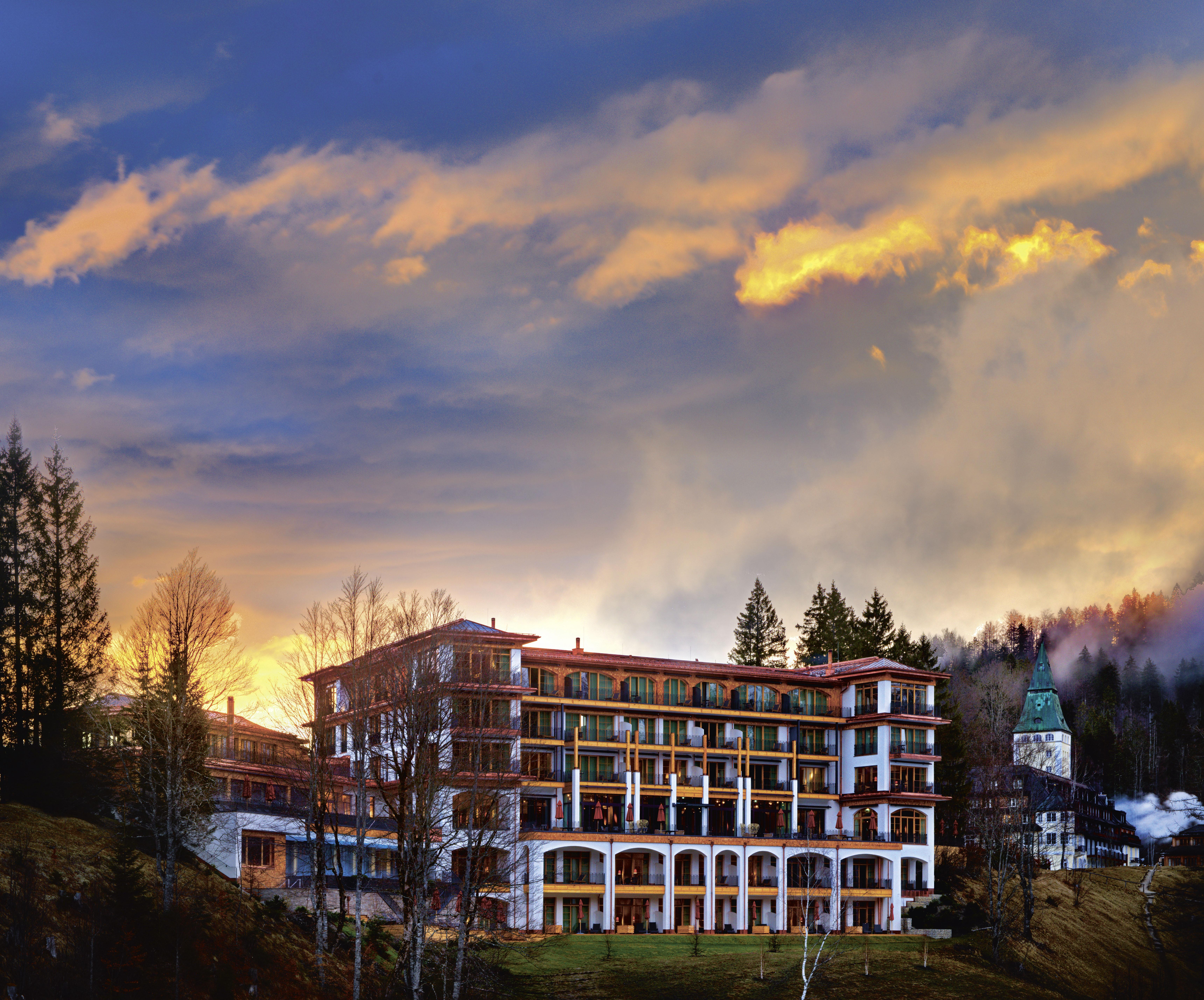 Schloss Elmau in Garmisch-Partenkirchen